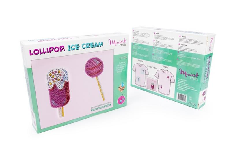 Buy Bead embroidery kit-Lollipop. Ice Cream-11106_1