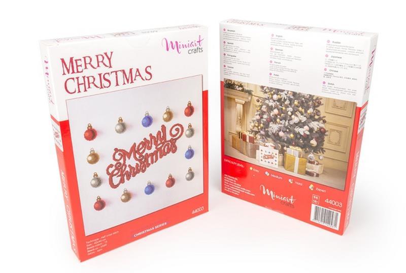 Buy Bead embroidery kit-Merry Christmas-44003_1