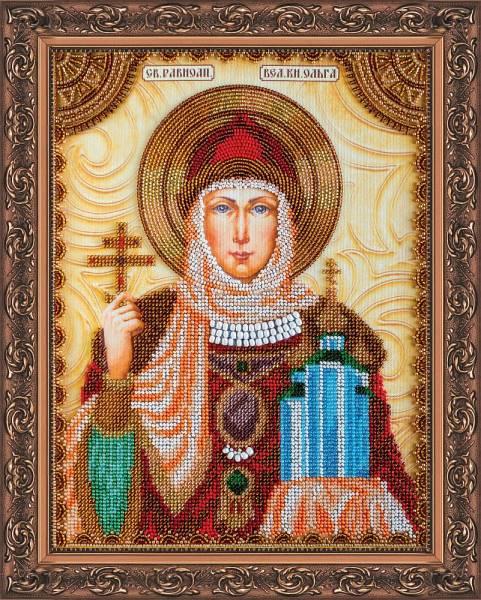 Buy Bead embroidery kit Icon - Saint Olga-AA-011