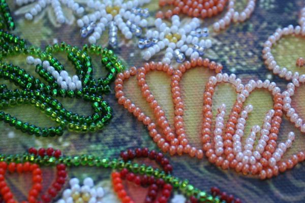 Buy Bead embroidery kit - Goddess of flowering-AB-325_1