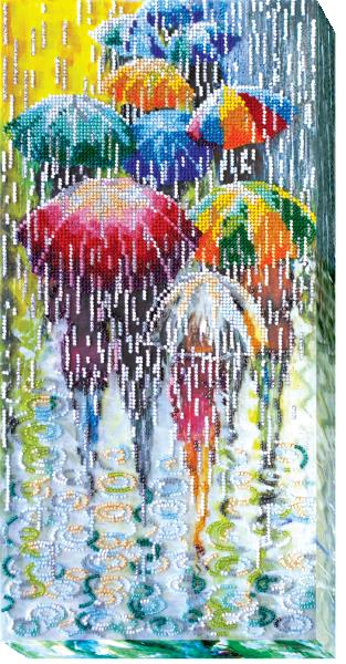 Buy Bead embroidery kit - Fun umbrellas-AB-434