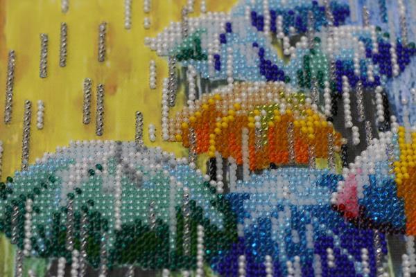Buy Bead embroidery kit - Fun umbrellas-AB-434_1