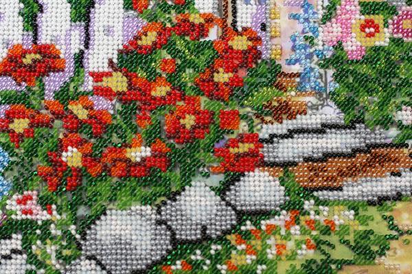 Buy Bead embroidery kit - Fabulous Summer-AB-469_4