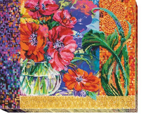 Buy Bead embroidery kit - Anemones-AB-488