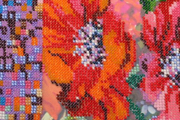 Buy Bead embroidery kit - Anemones-AB-488_1