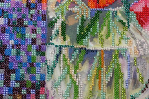 Buy Bead embroidery kit - Anemones-AB-488_2