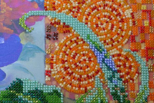 Buy Bead embroidery kit - Anemones-AB-488_3