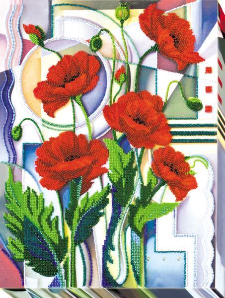 Buy Bead embroidery kit - Flowers of Morpheus-AB-529