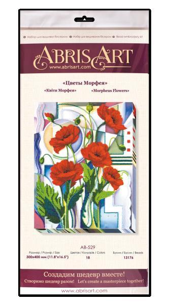 Buy Bead embroidery kit - Flowers of Morpheus-AB-529_1