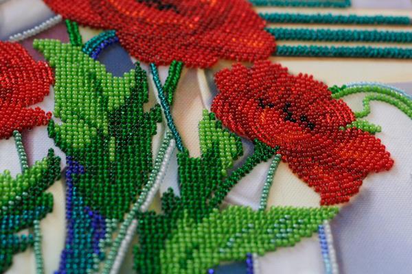Buy Bead embroidery kit - Flowers of Morpheus-AB-529_3