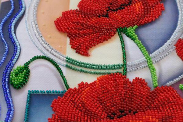 Buy Bead embroidery kit - Flowers of Morpheus-AB-529_5