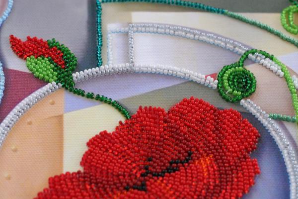 Buy Bead embroidery kit - Flowers of Morpheus-AB-529_6