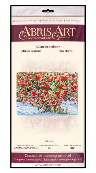 Buy Bead embroidery kit - Tree of Love-AB-607_1