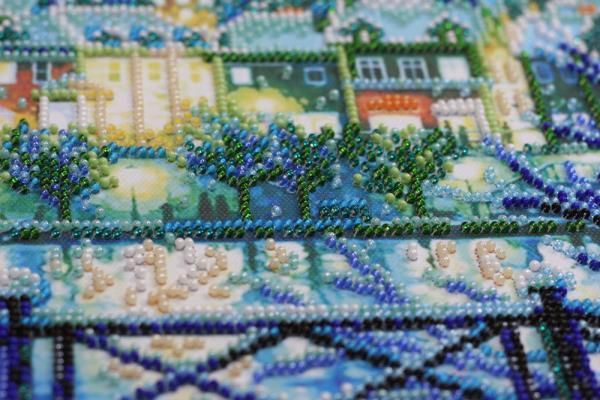 Buy Bead embroidery kit - Shining Blue-AB-670_6