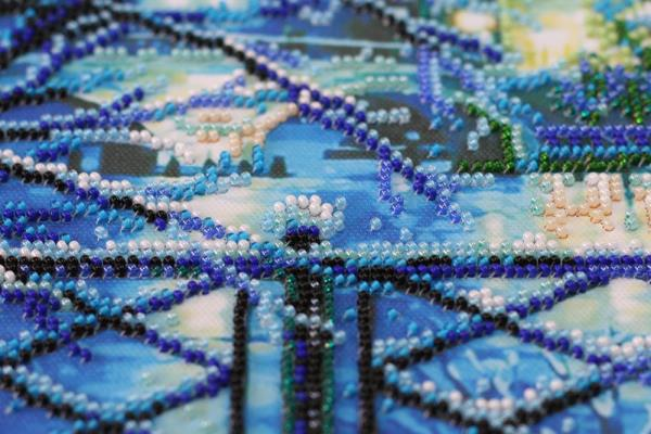 Buy Bead embroidery kit - Shining Blue-AB-670_7