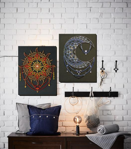 Buy Bead embroidery kit - Sun pattern-AB-770_1