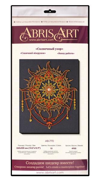 Buy Bead embroidery kit - Sun pattern-AB-770_3