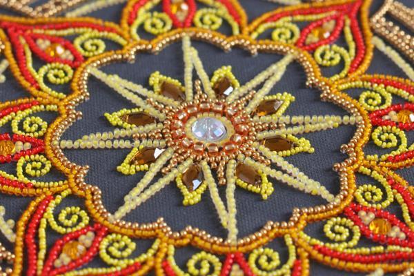 Buy Bead embroidery kit - Sun pattern-AB-770_5
