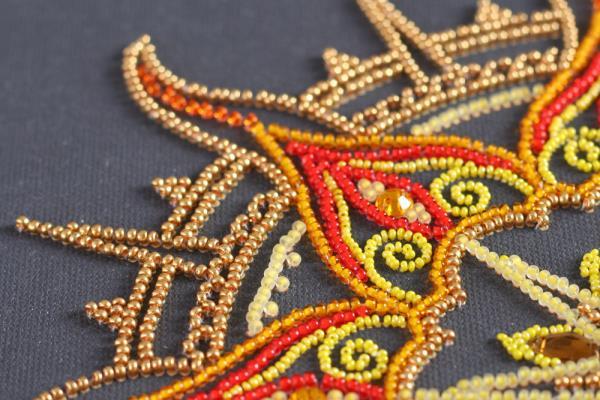 Buy Bead embroidery kit - Sun pattern-AB-770_6