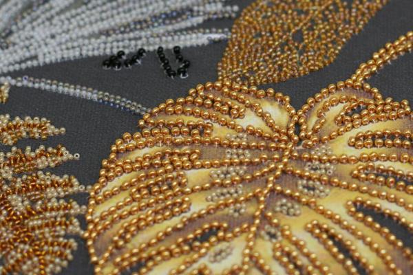 Buy Bead embroidery kit - Golden Tropics-AB-795_4