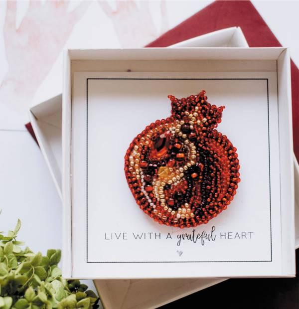 Buy DIY Jewelry making kit - Garnet-AD-027