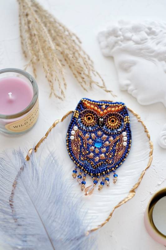 Buy DIY Jewelry making kit - Owl-AD-045