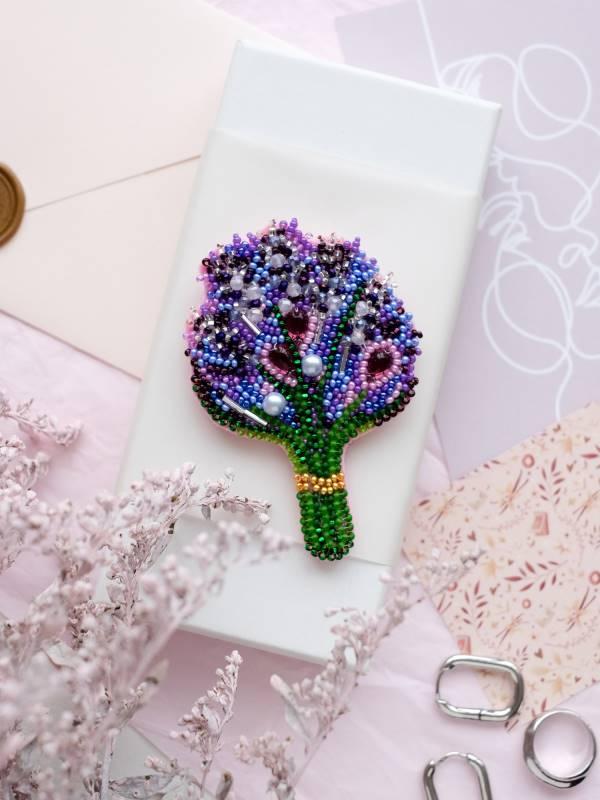 Buy DIY Jewelry making kit - Lavender-AD-074