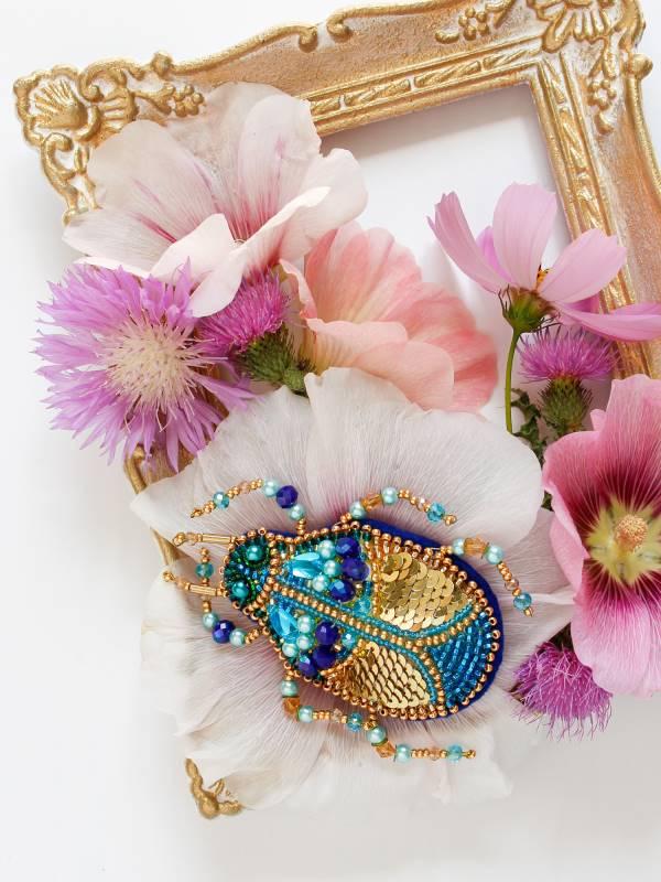 Buy DIY Jewelry making kit - Azurite-AD-084
