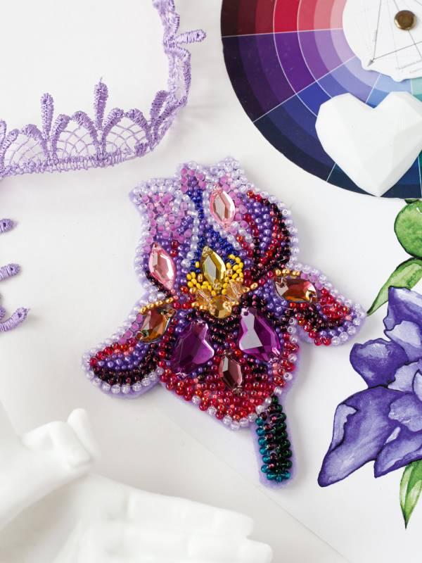 Buy DIY Jewelry making kit - Amethyst iris-AD-200