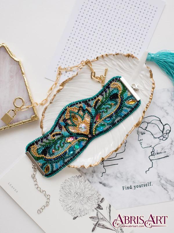 Buy DIY Beaded bracelet kit - Viridian-ADB-008