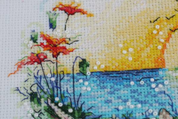 Buy Cross stitch kit - Sunny paradise-AH-074_2