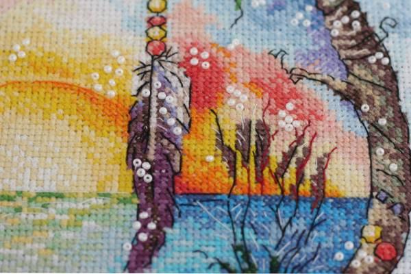 Buy Cross stitch kit - Sunny paradise-AH-074_4