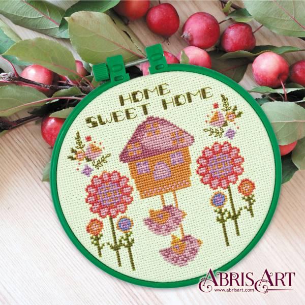Buy Mini Cross stitch kit - House of Cute Home-AHM-002