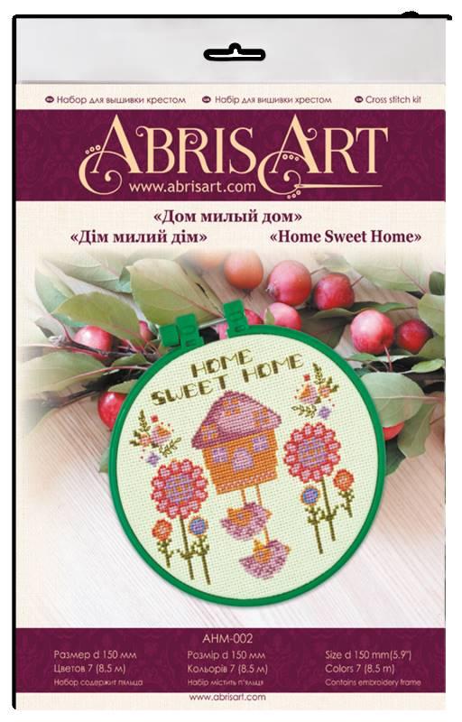 Buy Mini Cross stitch kit - House of Cute Home-AHM-002_1