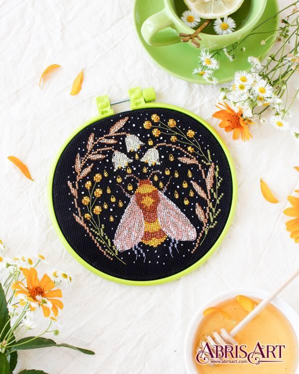 Buy Mini Cross stitch kit - Sweet nectar-AHM-022
