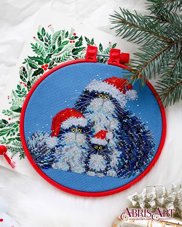 Buy Mini Cross stitch kit - Have you called Santa?-AHM-024