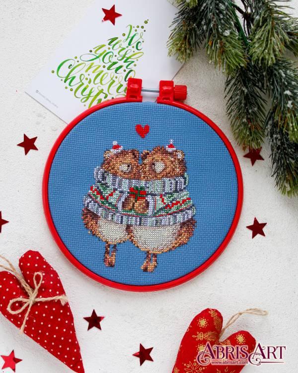 Buy Mini Cross stitch kit - Hug me-AHM-027