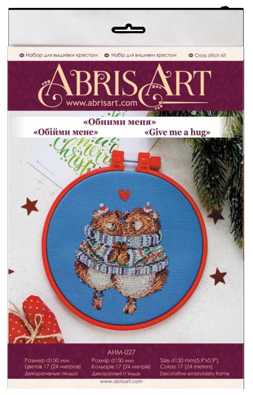 Buy Mini Cross stitch kit - Hug me-AHM-027_1