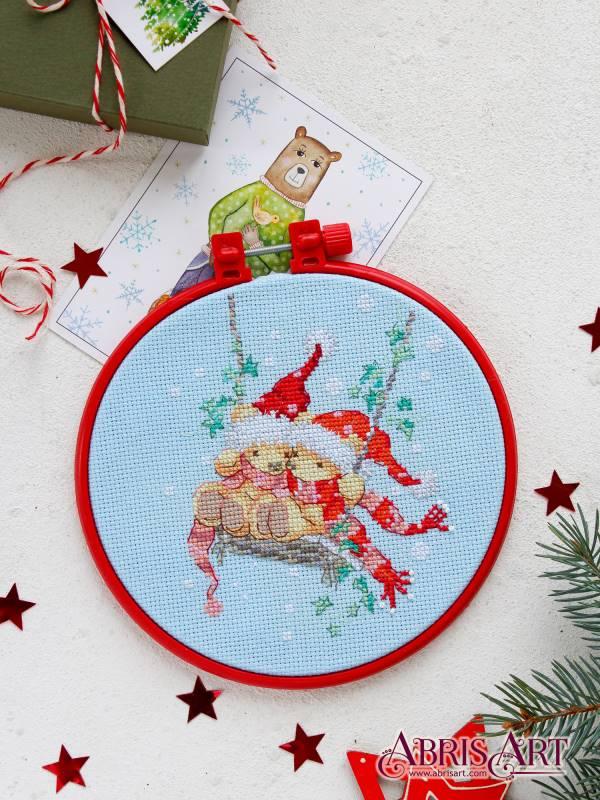 Buy Mini Cross stitch kit - On the swing-AHM-028