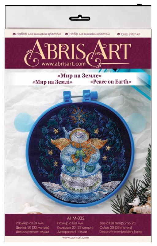 Buy Mini Cross stitch kit - Peace on earth-AHM-032_1