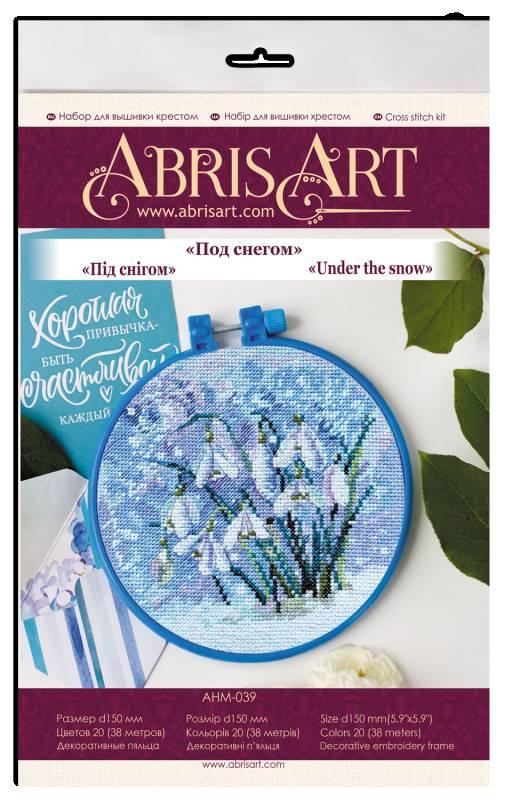 Buy Mini Cross stitch kit - Under the snow-AHM-039_1