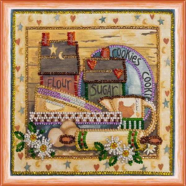 Buy Mini Bead embroidery kit - Kitchen-1-AM-082