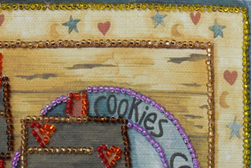 Buy Mini Bead embroidery kit - Kitchen-1-AM-082_1