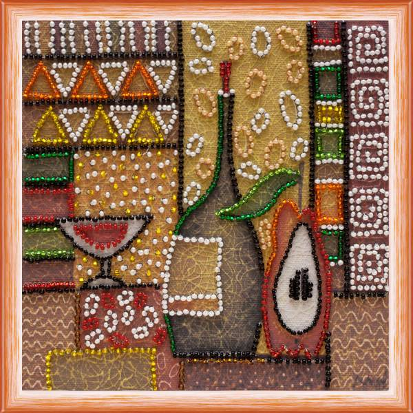 Buy Mini Bead embroidery kit - Kitchen-2-AM-084