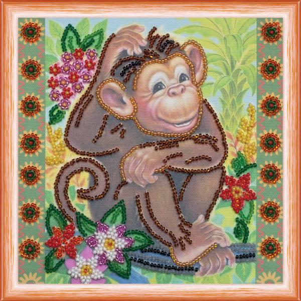 Buy Mini Bead embroidery kit - Among the jungle-AM-115