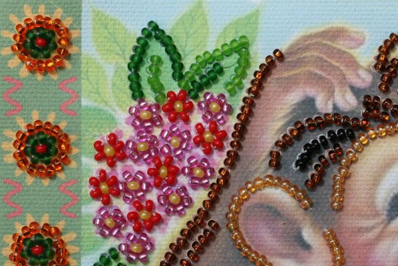 Buy Mini Bead embroidery kit - Among the jungle-AM-115_1