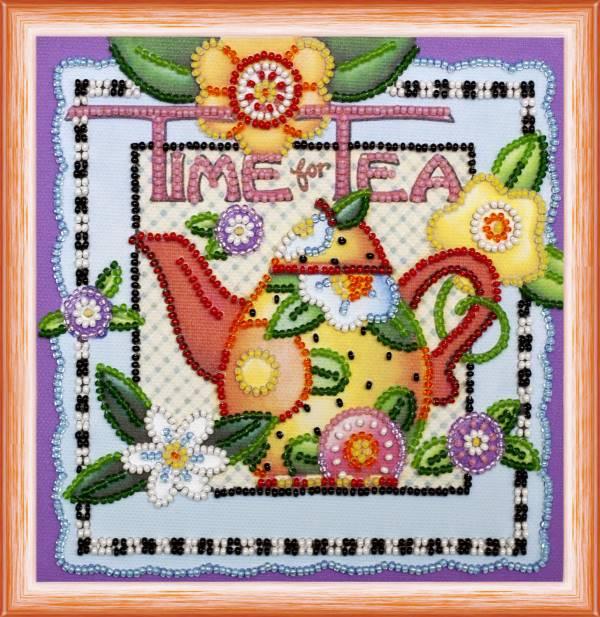 Buy Mini Bead embroidery kit - Tea Time-AM-121
