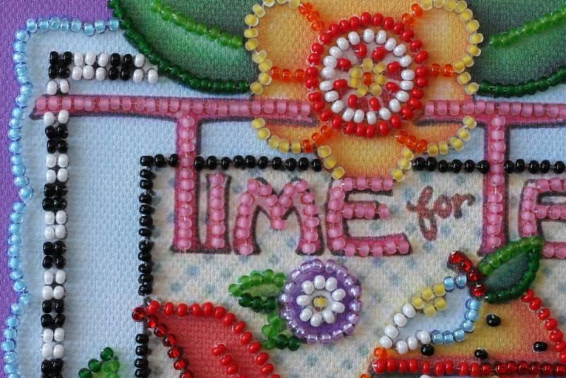 Buy Mini Bead embroidery kit - Tea Time-AM-121_1