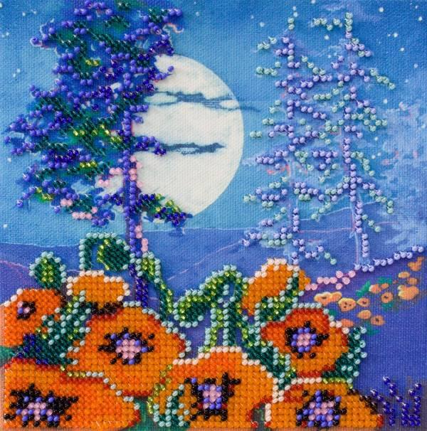 Buy Mini Bead embroidery kit - Full Moon-AM-185