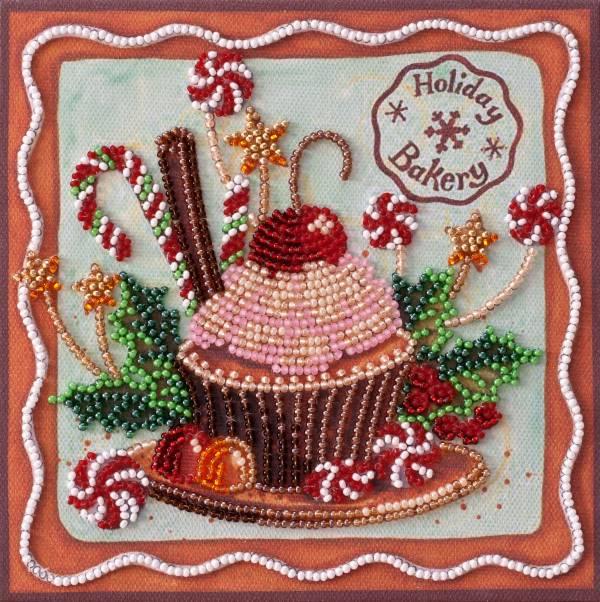 Buy Mini Bead embroidery kit - Festive sweets-AM-198